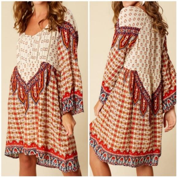 d34f2fbcd181 Altar'd State Dresses | Altard State Sahara Boho Tunic Dress | Poshmark